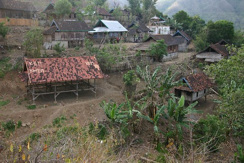 Sumbawanese village near Sape.