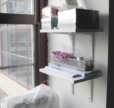 Sewing Shelves