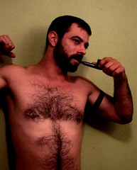 i tried so hard to find something wrong (knitboy1) Tags: friends hairy matty hotmen pipesmoking