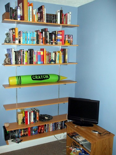 My new shelving
