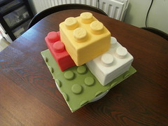 Lego Cake (Caking it...) Tags: cake sarahking sugarpaste noveltycake sugarcaft bakinganddecorating sarahjoanneking