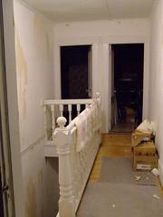 hallway - stripped