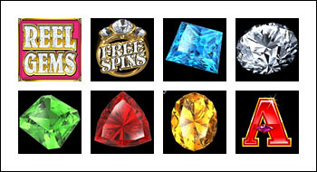 free Reel Gems slot game symbols