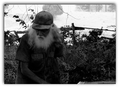 (mightyquinninwky) Tags: trees summer portrait blackandwhite bw geotagged weeds kentucky working oldman farmland pasture shade harmony farmer oldgrowth 1on1 hotday cattlefarm westernkentucky familyfarm ohioriverbottoms unioncountykentucky ohiorivervalley digitalcameraclub tristatearea 1on1people 1on1bw splitwoodfence aplusphoto agradephoto faithfulflickrfriends theothervillage globalvillage2 geo:lat=37683956 geo:lon=8797019 onlybw blackwhiteartaward ~blackandwhite~ kentuckyillinoisindiana kentuckyillinoisstateline shawneetownbridgeroad springgrovekentucky owneroperater smallfarmowner inspiredbytarkovsky bestofformyspacestation