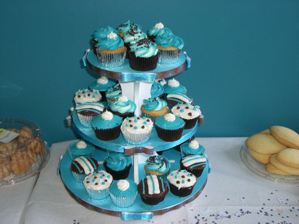 Wedding Shower Cupcake Tier