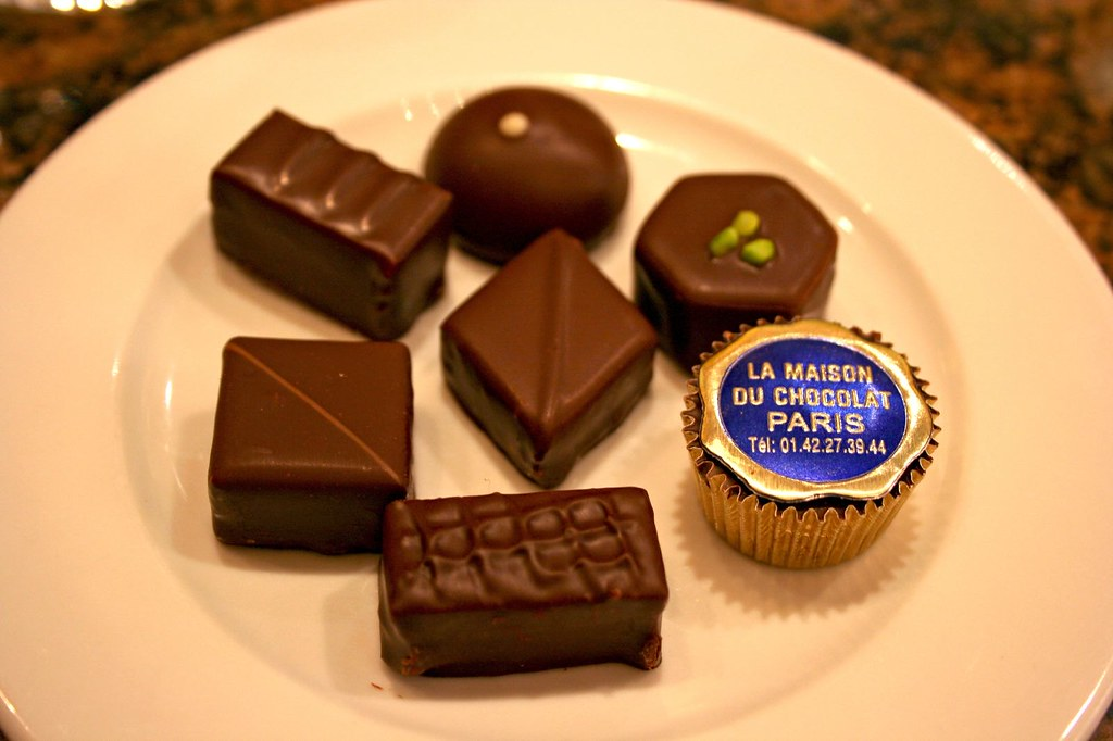 Plate of bonbons