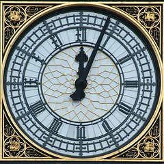 Parliament Clock by Aldaron, on Flickr