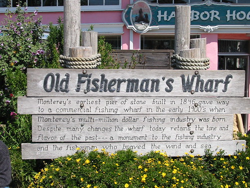 Fisherman's Wharf Sign by Lisa Andres