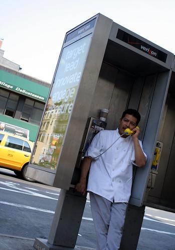 The yellow phone