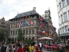 More of the flag building (josephlogan) Tags: beer joseph belgium antwerp ronya