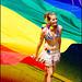 Flagbearer - by Trevor Haldenby