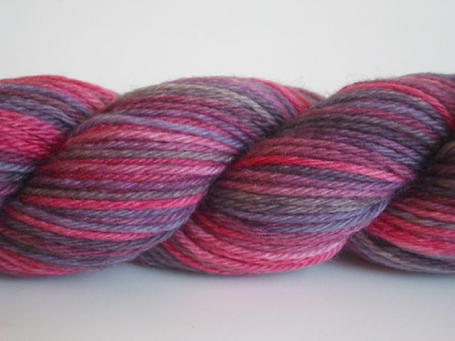 choc cherry sock yarn