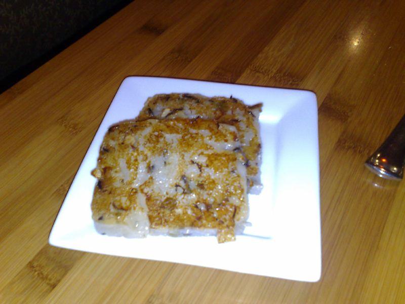 Turnip cakes