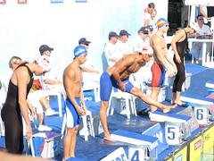 男子200m背泳ぎ 佐野秀匡選手予選3位通過