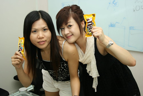 Jolin and Sandy