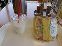道の駅「八王子滝山」での昼食