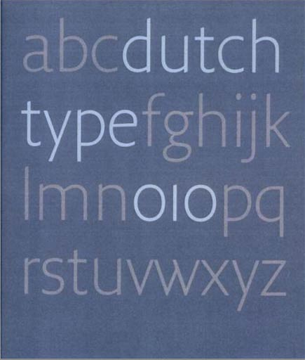 dutch type: cover
