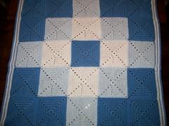 Ravelry Double Diamond Blanket Pattern By Bernat Design