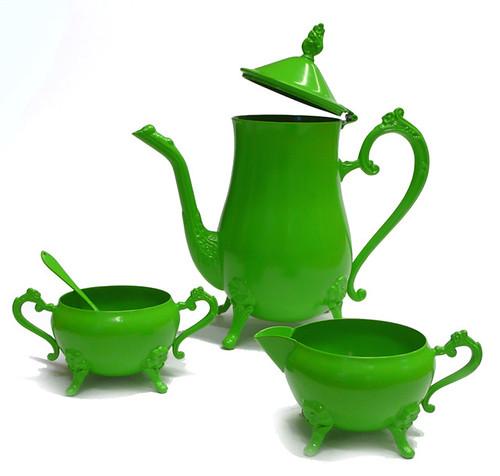 tea set vert