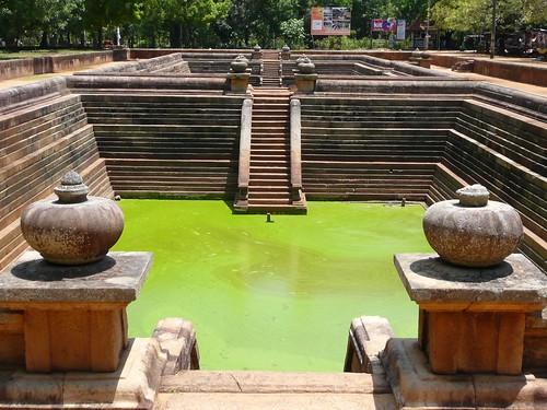 Buddha's Sacred Place, Anuradhapura - Sri Lanka