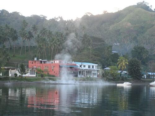 Hot springs Savu Savu