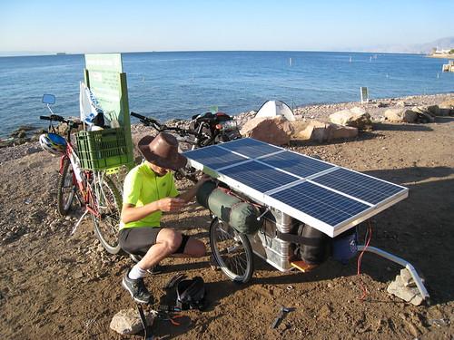 ים שמש ופאנל סולרי