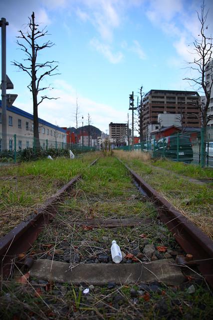 廃線後の貨物路線