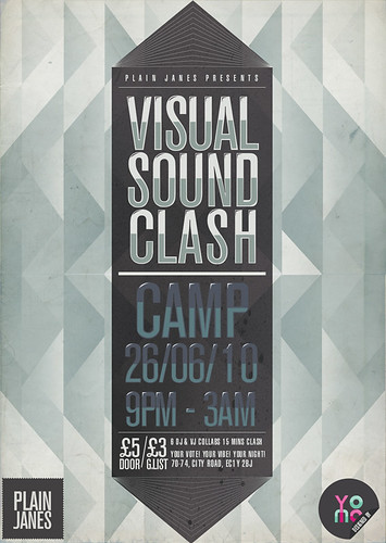 Visual Sound Clash Flyer