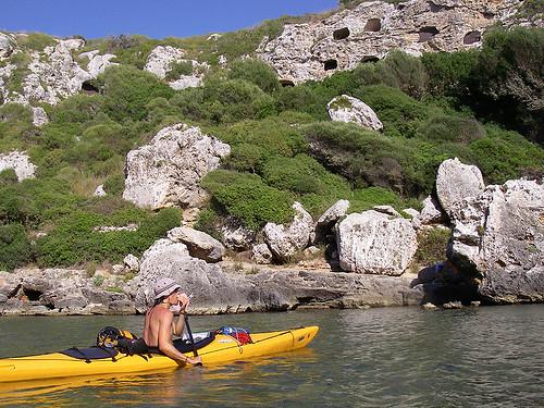 Vuelta a Menorca en kayak 16