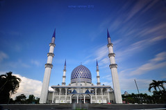 Morning Glory (sirman88) Tags: blue cloud slow mosque le shutter dri scapes sirman