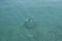 Sunken Chair (leekelleher) Tags: sea chair mani greece sunk 2007 peloponnese yithio gytheio southernpeloponnese