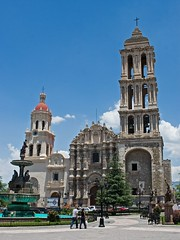 Catedral de Santiago (Ricardo Carreon) Tags: old church mexico temple catholic cathedral antique catedral iglesia igreja oldcity coahuila saltillo arquitecture