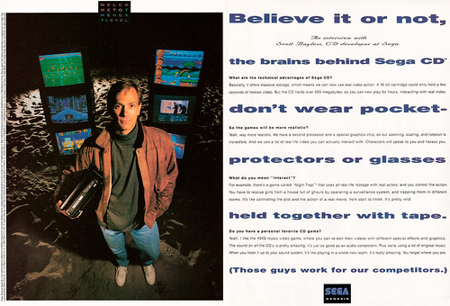 Sega CD Advertisement