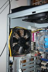 Rear Fan + ATX12V (Fr3d.org) Tags: computer fan pc wire harddisk cable amd case memory harddrive cpu ram hdd asus processor psu antec atx hiper molex nvidia p180b antecp180b a8nslideluxe