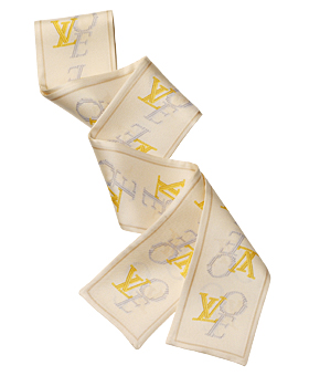 louis vuitton long love scarf