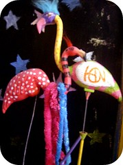 bob and bertha - true love (indielove) Tags: pets bob flamingos lawnornaments bertha lawnflamingos photo365