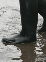 Wellington Boots in the Sheffiled Floods (purplespace) Tags: road green home water countryside boots peakdistrict sheffield wellingtonboots puddles wellies floods wellingtons englishcountryside flooded sheffieldfloods