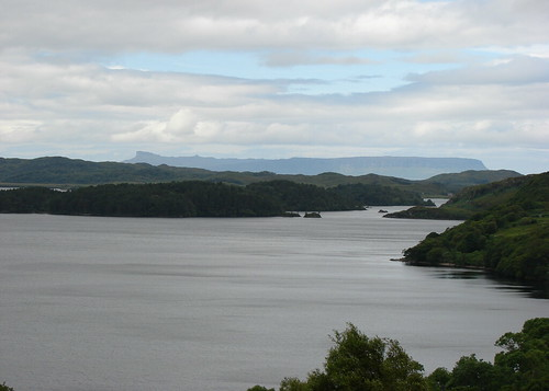 Loch Morar and Eigg