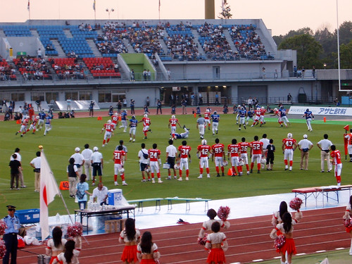 American Football World Cup: Japan - France