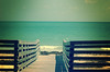 dx-pro beach (Adam FLiK) Tags: beach water look digital photoshop keys lomo xpro cross florida walkway process processed productions dxpro flik mywinners adamflikkema