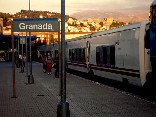 Horarios de trenes de Barcelona a Granada