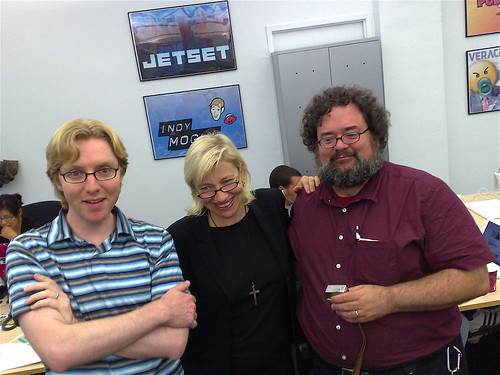 Tim, Halley and David at Next New Networks
