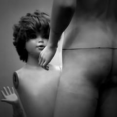 (orsike) Tags: man nude hungary child sony budapest help artlibre