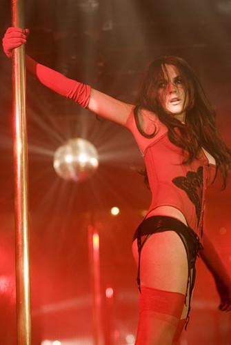 Lindsay Lohan de striper