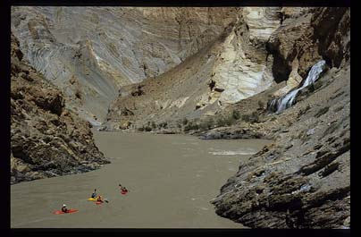 Deep in the Zanskar Canyon