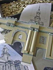 Prototyp für den Bau der Heiliggeistkirche