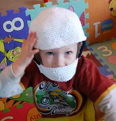 Max's helmet