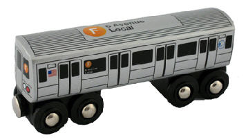 Transit Museum - F Train - Toy Train