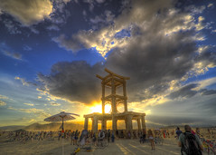 Temple of Forgiveness -- Burning Man 2007, Land of dreams