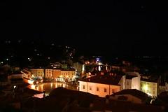 Piran de noche (Desire) Tags: night dark square lights piran eslovenia crossingborders vacacionespasadasporagua